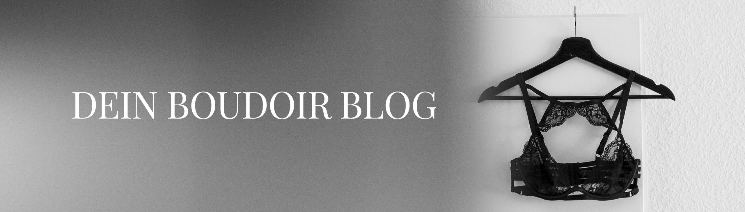 Header Teaser mit der Aufschrift dein boudoir blog